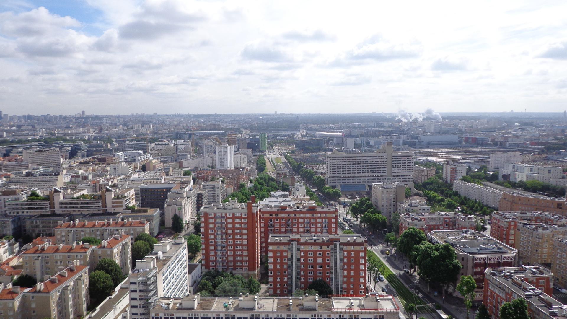 4 5 pi ces tour porte d 39 ivry paris 13 habitat ideal - Metro porte d ivry ...